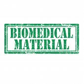 picture of biomedical  - Grunge rubber stamp with text Biomedical Material - JPG