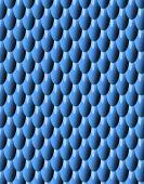 Blue Pattern Bumps