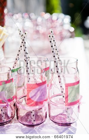 Decorative Party Glasses