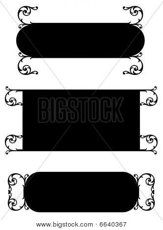 Scroll Nameplates