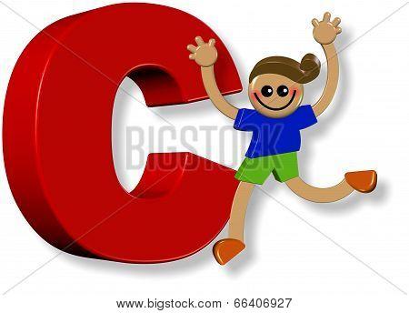 Alphabet C Boy