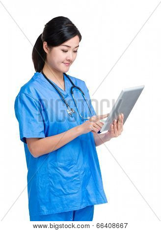 Medical woman doctor
