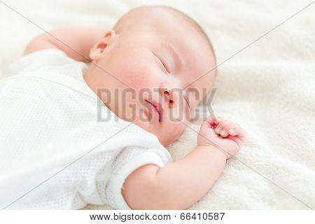 Baby boy take nap