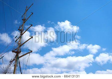 Russian Tall Ship Sts Mir