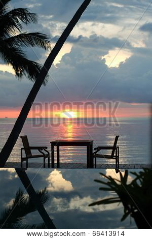 Seaside Dinner Table
