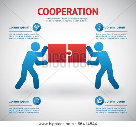 Cooperation and teamwork template
