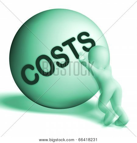 Costs Sphere Means Expenses Price And Outlay