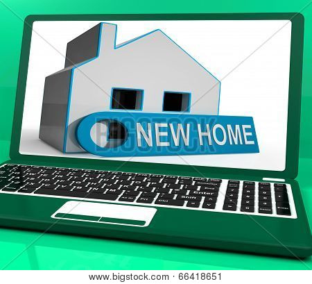 New Home House Laptop Means Finding And Purchasing Property