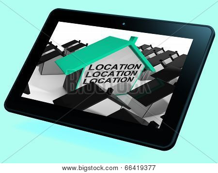 Location Location Location House Tablet Means Situated Perfectly