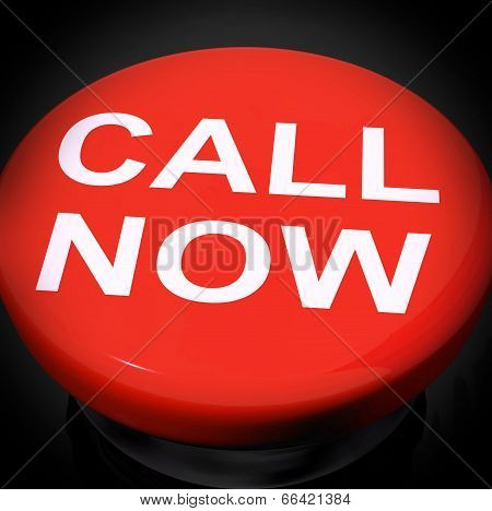 Call Now Switch Shows Talk Or Chat