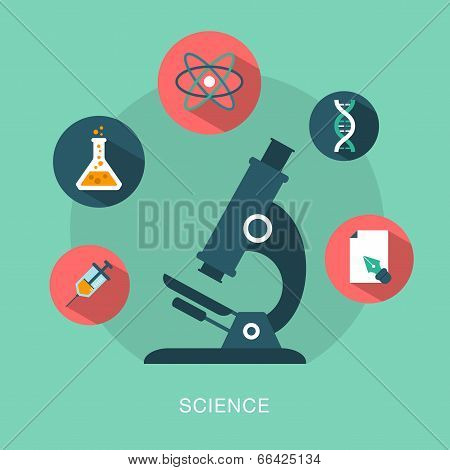 vector science concept illustration