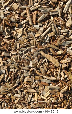 Organic Environmental Wood Chip Background