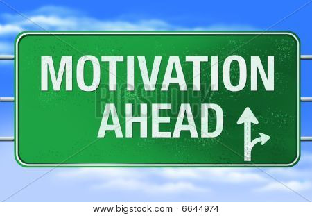 Motivation Road Sign