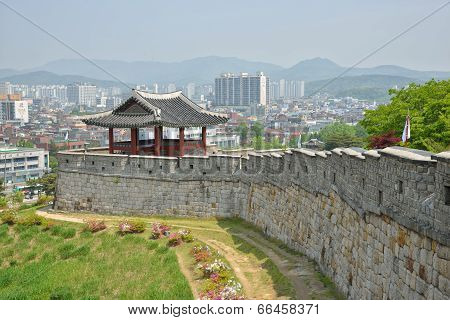 North-West Pavilion of Suwon Hwaseong