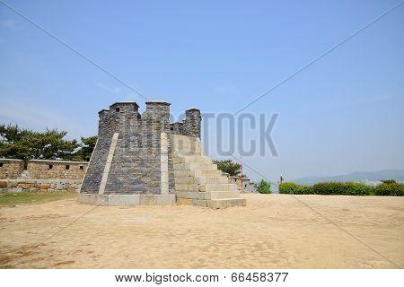 West Crossbow Platform of Suwon Hwaseong