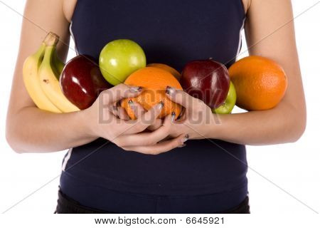 Arms Full Of Fruit