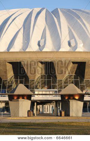 Grand dome entrance