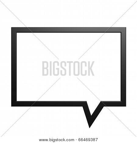 Square Dialog Box