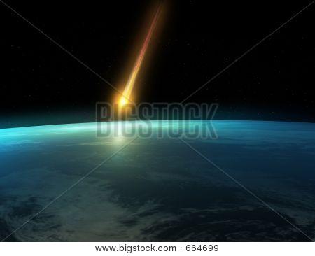Impacto de meteoro