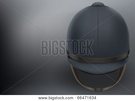 Jockey helmet for horseriding athlete