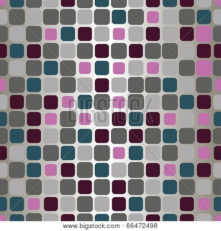 Vector Seamless Pattern With Gray And Burgundy Tiles