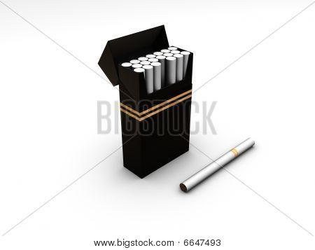 Caja del cigarrillo