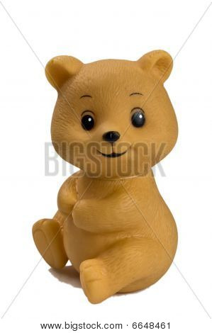 Plastic Toy Bear