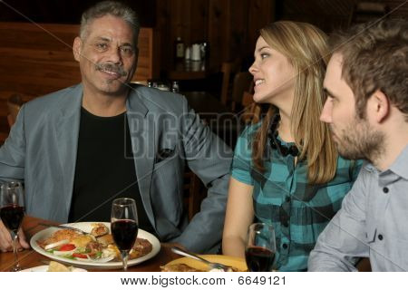 Three Dining Out