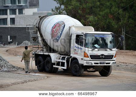 indocement concrete mixer truck