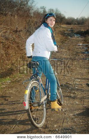 Bicicleta de niña a caballo
