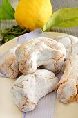 image of sugar paste  - fragrant and sweet Sicilian almond paste with sugar and lemon - JPG
