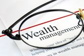 image of financial management  - Focus on wealth management and money investing - JPG