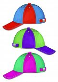 picture of no clothes  - Vector illustration of baseball cap  - JPG