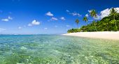 picture of sea-scape  - Tropical beach destination - JPG
