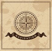 foto of longitude  - Wind Rose Nautical Compass  - JPG