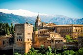 pic of v-day  - View of the famous Alhambra - JPG