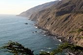 pic of pch  - Landscape along Highway 1 in Southern California - JPG