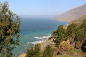 picture of pch  - Landscape along Highway 1 in Southern California - JPG