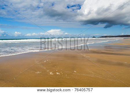 Perranporth Beach Cornwall