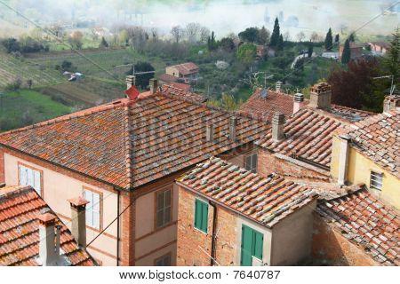 Italy. Tuscany Region. Montepulciano