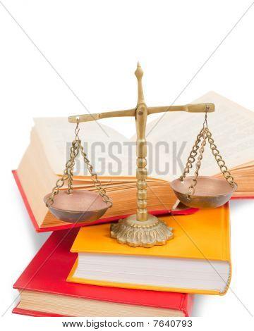 Justiz-Konzept