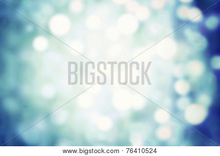 Winter Background With Blurry Bokeh Special Magic Effect. Glitter Abstract Festive Background. Chris