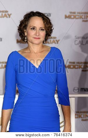 m LOS ANGELES - NOV 17:  Nina Jacobson at the The Hunger Games: Mockingjay Part 1 Premiere at the Nokia Theater on November 17, 2014 in Los Angeles, CA