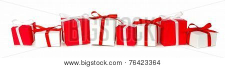 Christmas gift border
