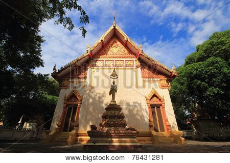 Temple at Wat chumpon suttha wat
