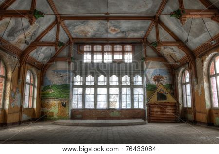 Abandoned Hall In Beelitz