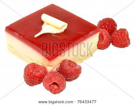 Raspberry Torte Cake