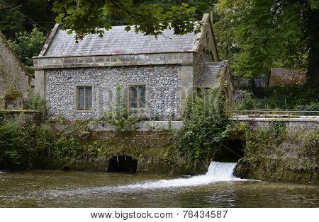 Old Mill At Arundel In West Sussex. England