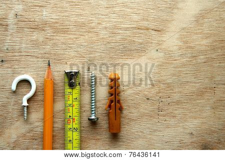 Carpentry Tools and materials