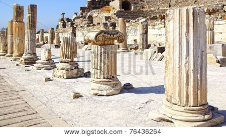 Ancient city of Ephesus, Turkey.
